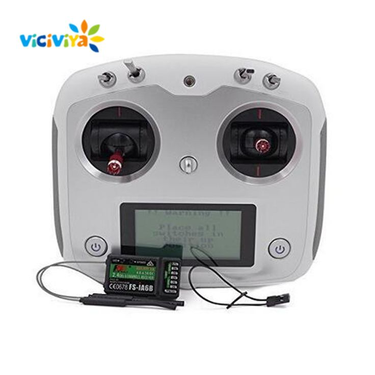 VICIVIYA FS-i6S 10CH 2.4G RC Helicopter Transmitter Drone Controller Set with FS-iA6B Receiver Quadcopter Accessories Parts ^ #Affiliate