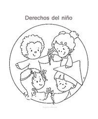 Dibujos De Los Derechos Del Nino Para Pintar Derechos De Los Ninos Imagenes De Los Derechos Derechos Del Nino Dibujos