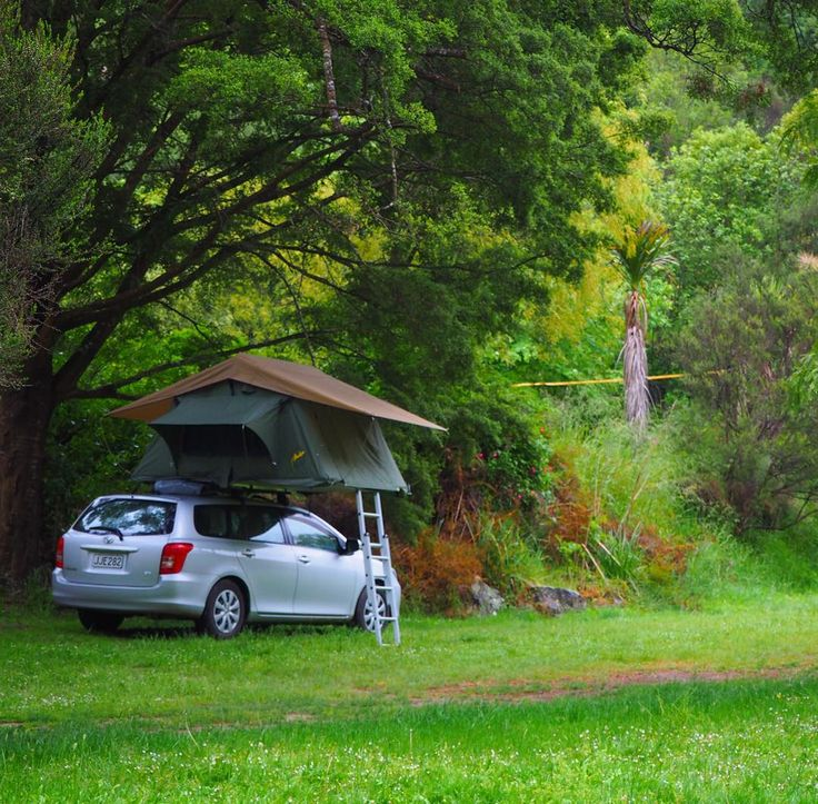 Better than hotel 👍😍🏕 #camping #adventure #travel #podroze #newzealand #tent #forest #river #sleepwell #rivervalley #awesome #luckyme