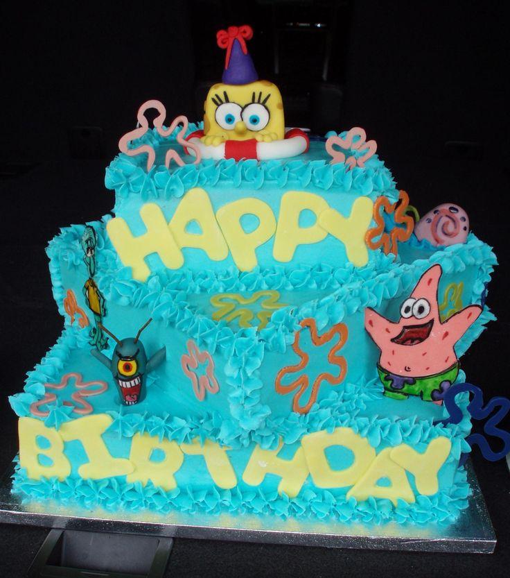 D Spongebob Cake Ideas