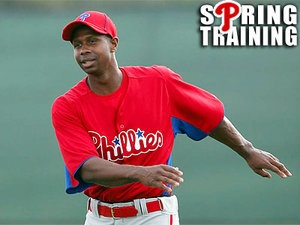 Juan Pierre is a go for Opening Day. The era of dunk singles, moving base runners, and swiping bags is upon us Phillies fans!