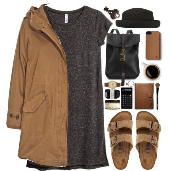 O by vera-ush on Polyvore featuring H&M, Woolrich, Birkenstock, Void, Guerlain, Ahava, Coach, LEXON and Advantus