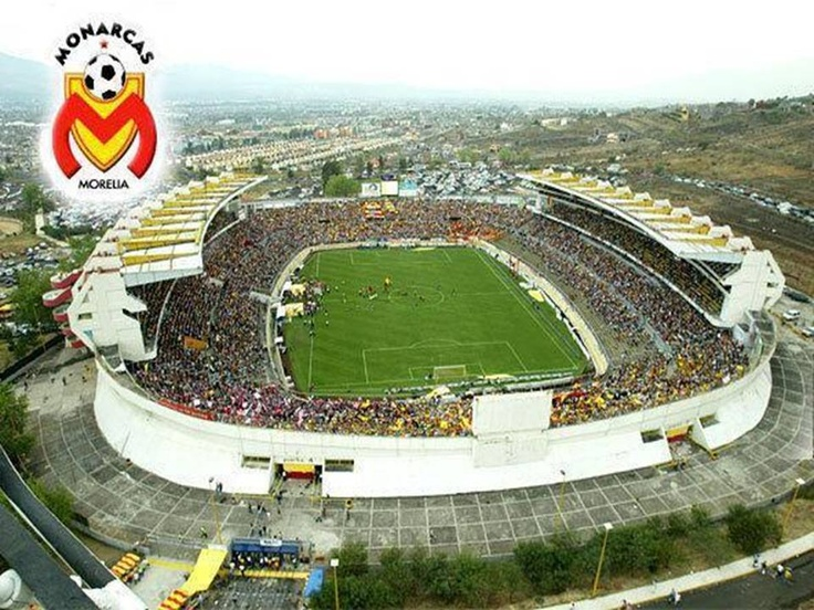 Estadio morelos michoac n m xico estadios de futbol for Puerta 5b estadio universitario