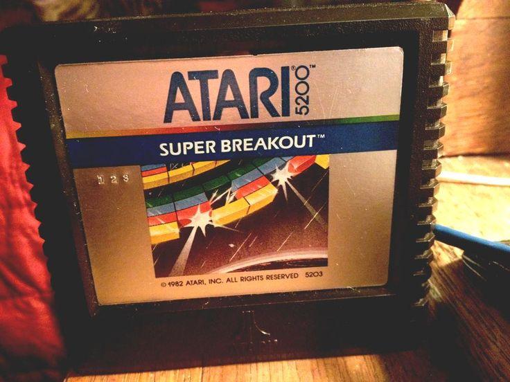 #atari 5200 game - super breakout! from $5.2
