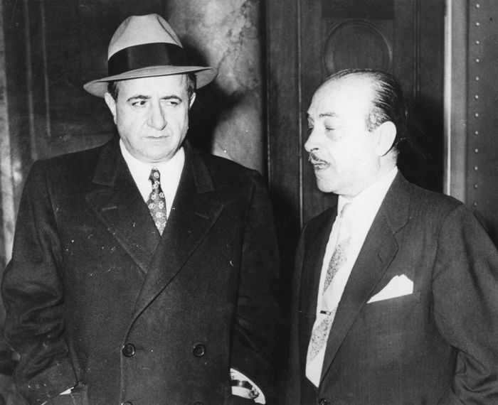 Online veilinghuis Catawiki: Unknown/Acme News Pictures/United Press International - Albert Anastasia & Theodore Roe,  Mafia gangsters, 1954/51