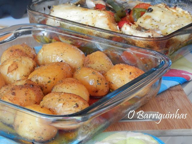 Bacalhau em Cama de Legumes Assados