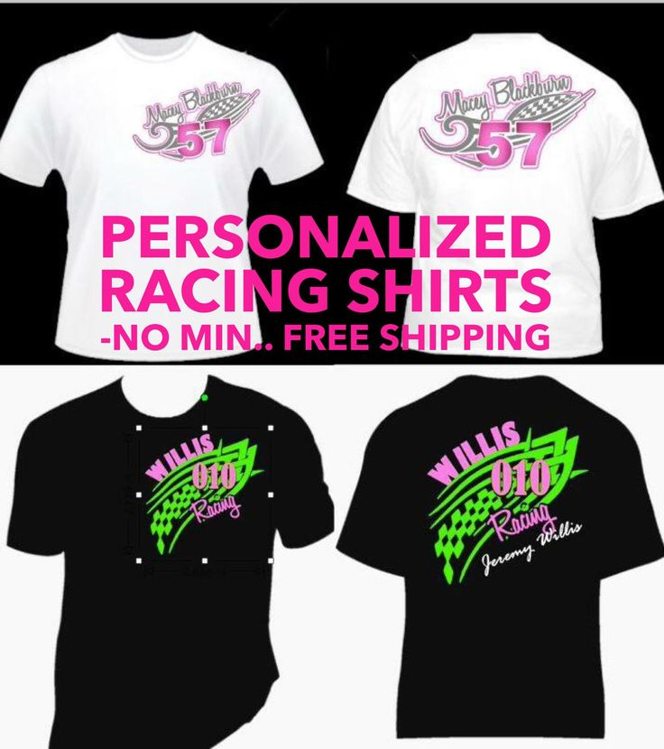150 best custom shirt designs images on pinterest for Custom racing t shirts