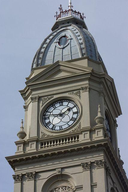 Clock Tower, North Melbourne Town Hall, North  Melbourne Australia