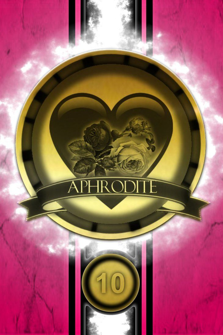 Aphrodite Cabin Golden Logo Poster by jimuelmaurer26