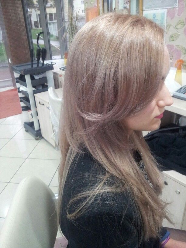 #pink #haircolor #wella