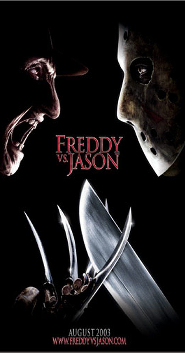Directed by Ronny Yu.  With Robert Englund, Ken Kirzinger, Kelly Rowland, Monica Keena. Freddy Krueger and Jason Voorhees return to terrorize the teenage population. Except this time, they're out to get each other, too.