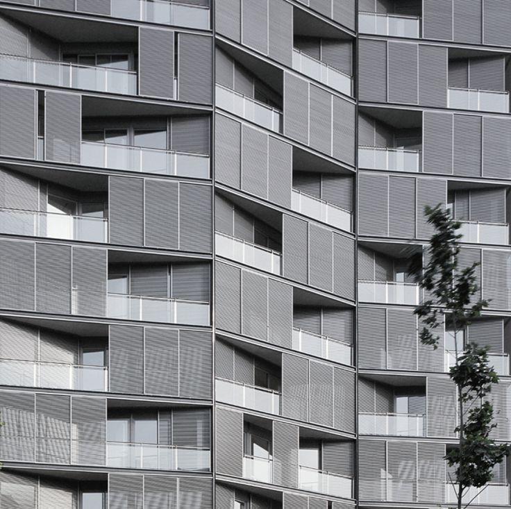 Edificio de 68 viviendas, locales comerciales y aparcamientos - Carlos Ferrater