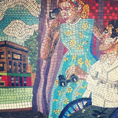 Rear Window Mosaic - Leytonstone Station | by mattbooy