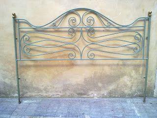 Ditta Brogani Maurizio. Lavori in ferro battuto e restauri in ferro, ottone, ghisa e alpacca: Letti in ferro battuto