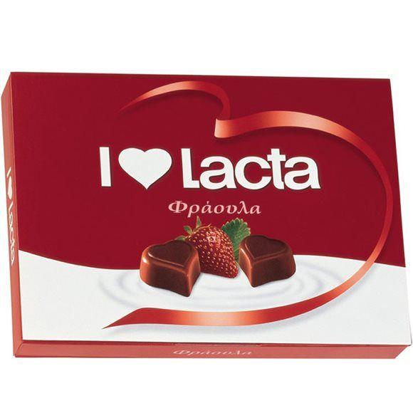 I Love Lacta chocolates