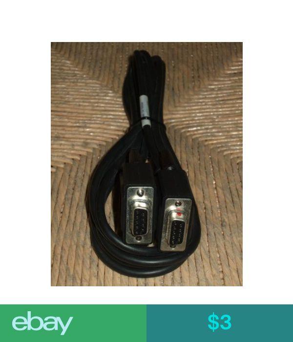 **GENUINE** Hewlett-Packard  5183-7247 HP Serial Cable Nine-Pin F-F 8 Foot