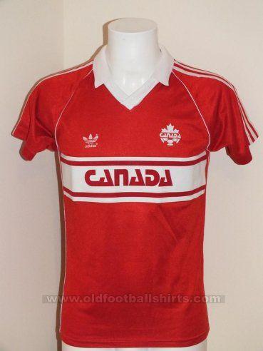 Canada Home football shirt 1984 - ?