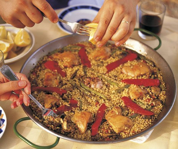 Paella: Rice at Its Best Excellent Information about Paella in the Article plus a recipe of course