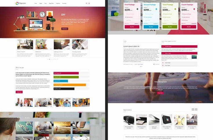 Progressive HTML5 Template