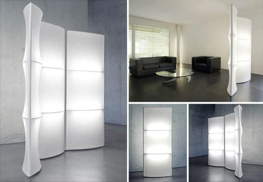 Modular light screen room divider lights room dividers and screens - Opaque room divider ...