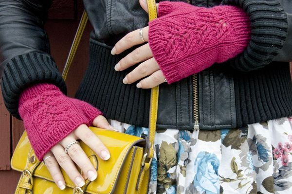 The Top 50 Craft Tutorials for 201336.  How to Knit Fingerless Mittens