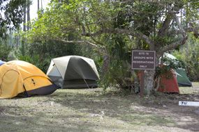 Paddling Camping Routes in Everglades Nat Park from Flamning VC. Chickee camping!!!