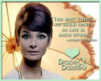 Motivational Monday!!!  Love Drape & Dazzle xx