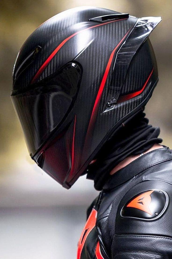 Agv Pista Gp R Cool Carbon Fiber Motorcycle Helmet With Red Graphic Cool Motorcycle Helmets Carbon Fiber Motorcycle Helmet Motorcycle Helmets