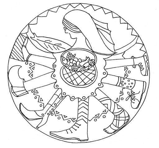 Mandala Dimecres de Cendra