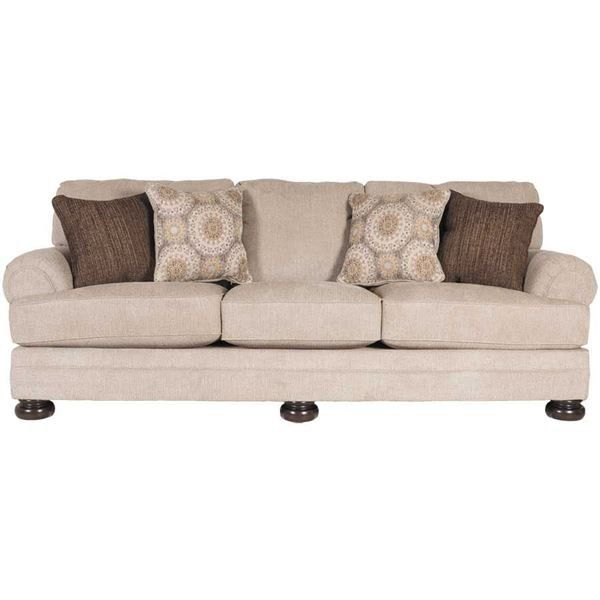 The Quarry Hill Quartz Sofa by Ashley Furniture is the mix of comfort & styling at a great price that you've been looking for.