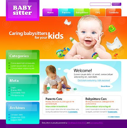 Website Template #26324