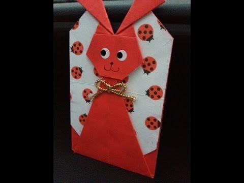 Petit Envelope Par2 ポチ袋【うさぎ】 - YouTube