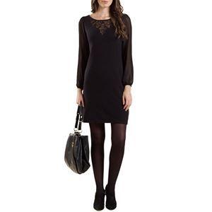 Chameleon Clothing UK. Monsoon Black Cashmere Blend Dress RRP £65 - yours Half Price £32.50