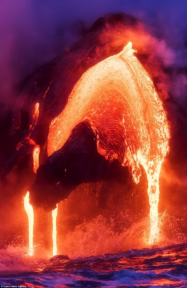 The Best Lava Ideas On Pinterest Volcanoes Volcano Pictures - Incredible neon blue lava flames erupt volcano