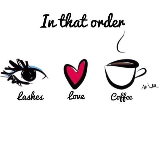 Yes please! #amazinglashstudiomonarchbeach #lashextensions #lashes #coffee #love