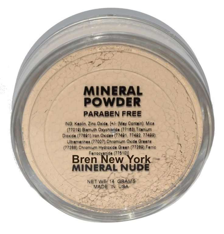 Mineral Nude Loose Foundation Powder Paraben Free Exceptionally lightweight Mineral Loose Powder for long lasting coverage with a luminous glow. Helps reduce the appearance of fine lines while promoting a radiant, natural glow.