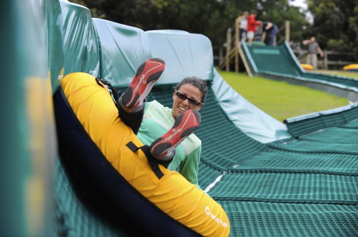 The Enchanted Adventure Garden..tube sliding for young and old..only on the Mornington Peninsula. Stay with us in our family friendly cottages and holiday houses.
