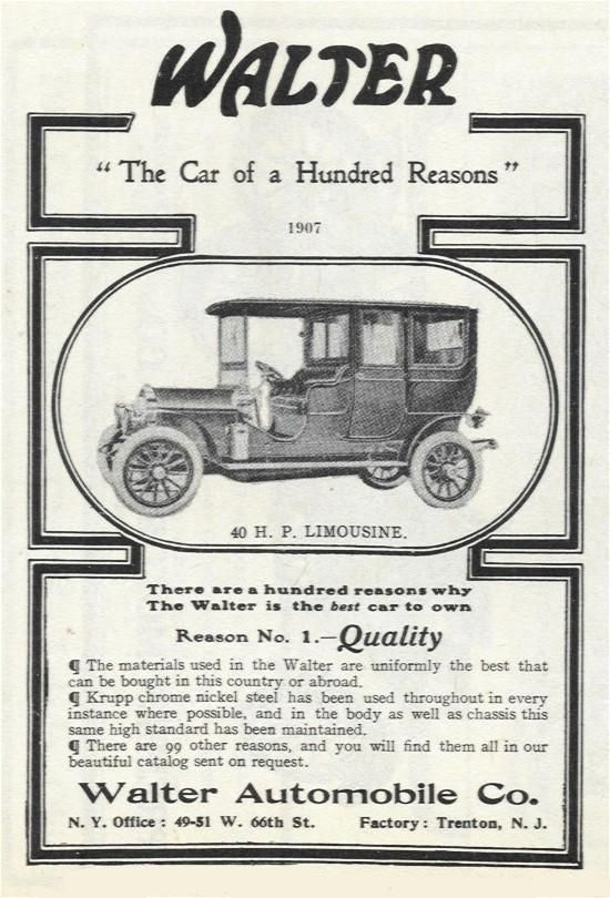 Walter the american chocolate machinery co new york ny for Motor vehicle in trenton new jersey