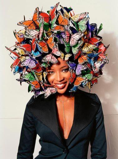 Philip Treacy Butterfly-tastic!x