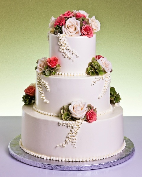 Wisteria Roses Cake by Jacques Fine European Pastries