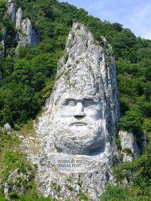 Rock sculpture of Decebalus - Wikipedia, the free encyclopedia