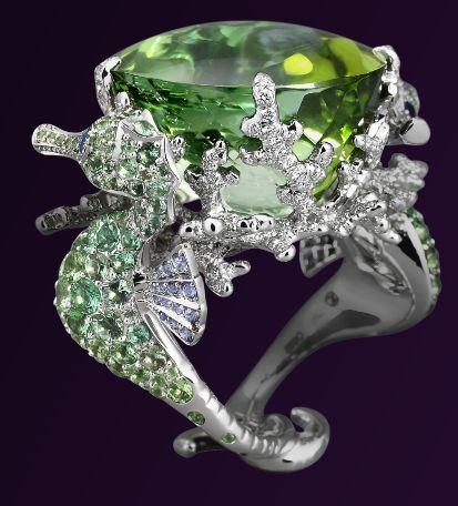 Lorenz Baumer Seahorse Ring