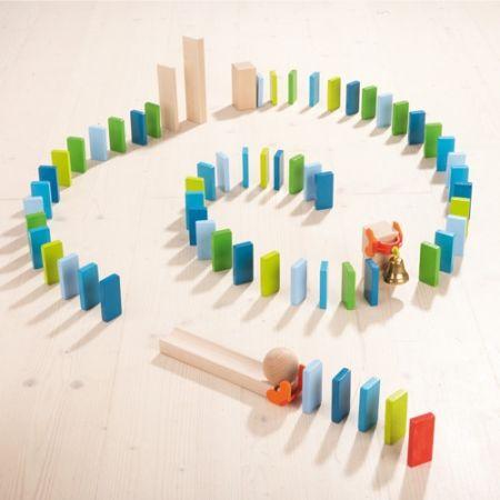 Best Domino En Hindernissen Images On Pinterest Th Birthday - Video dominoes falling reverse simply mesmerizing