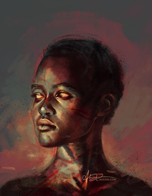 A painting of Patsey from 12 Years a Slave by Alice X ... | 500 x 643 jpeg 37kB