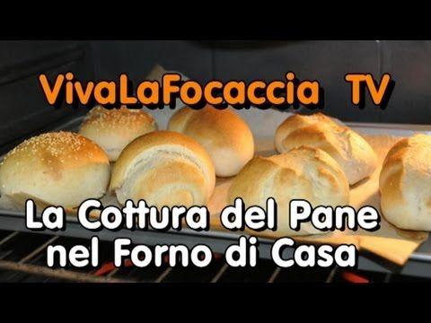 VivaLaFocaccia - TV - Puntata 3 - Cottura Pane in Casa