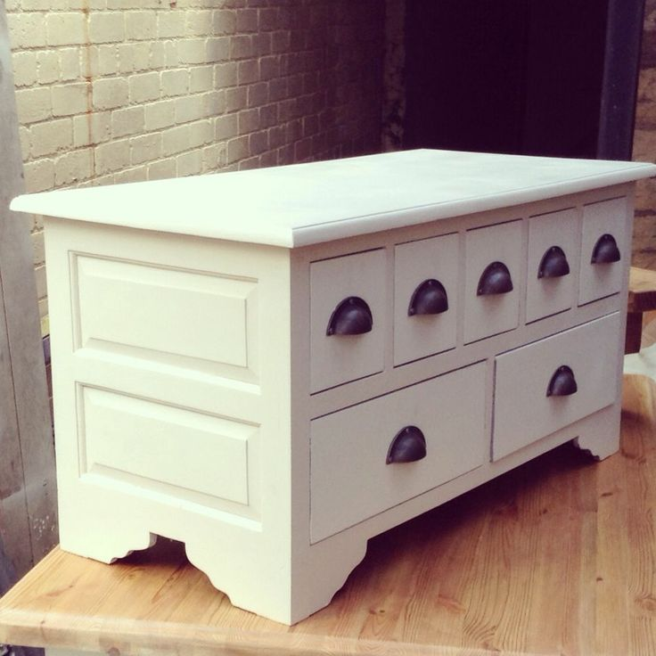 Gorgeous Painted Chest Apothecary Coffee Table In Farrow And Ball House Pinterest