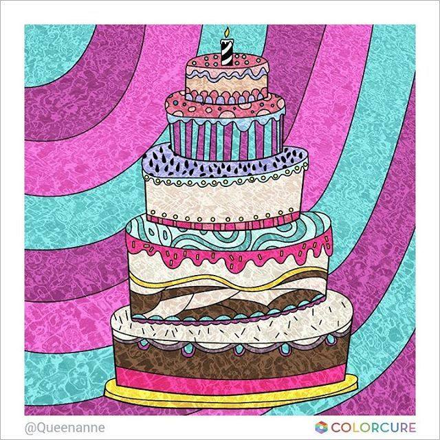 #cake #birthday #coloringbook #coloringappforadults #colorcure #adultcoloringbooks #비밀의정원컬러링북 #색칠공부 #healing #therapy #masterpiece #색칠놀이 #어른색칠 #힐링 #치유 #색칠스타그램 #art #sketch #painting #print #party #candle #light