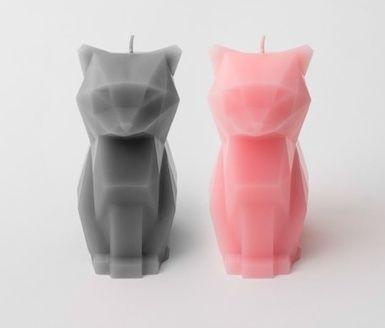 Kisa kaars kat (roze)