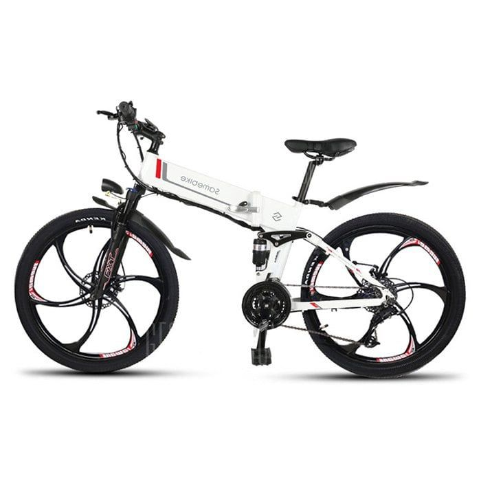 e8852ddbad6 Just $899.88, buy Samebike LO26 Moped Electric Bike Smart Folding Bike E-bike  online shopping at GearBest.com Mobile.