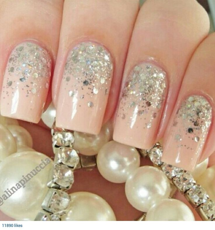 17 best images about beige nails for wedding on pinterest for Nageldesign beige gold